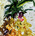 Pineapple Triptych Part 2 by Ginette Callaway