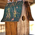 Pinewood Birdhouse by Gordon Elwell