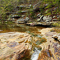 Piney Creek In Southern Illinois by Greg Matchick