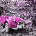 Pink 2cv  by Rob Hawkins