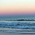 Pink And Blue Sky by Cynthia Guinn