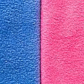 Pink And Blue by Tom Gowanlock