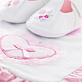 Pink Baby Girl Clothes by Elena Elisseeva