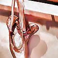 Pink Ballerinas by Jennie Breeze