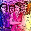 Pink Beatles From Rainbow Series by Joan-Violet Stretch