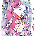 Pink Beauty by Mona Mansour Jandali