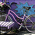 Pink Bicycle by John Jacquemain