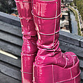 Pink Boots by Jasna Buncic