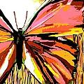 Pink Butterfly by Saundra Myles