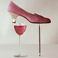 Pink Capezio Pump by Richard Rutledge