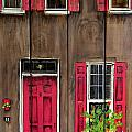 Pink Door by Ashley Galloway