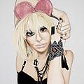 Pink Ears by Marcella Lassen