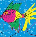 Pink Fish by Enrico Pischiera