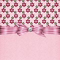 Pink Flowered Hearts  by Debra  Miller
