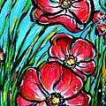 Pink Flowers by Nada Meeks