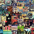 Pink Floyd Collage II by Zapista Zapista