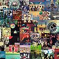 Pink Floyd Collage II by Taylan Apukovska
