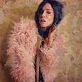 Pink Fru Fru  by Janice MacLellan