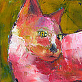 Pink Kitty by Patricia Curtis