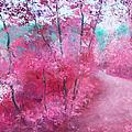 Pink Landscape by Jan Matson