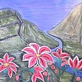 Pink Lillies by Suzanne Surber
