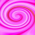 Pink Lollipop Swirl by April Patterson