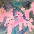 Pink Poodle Polka by Judith Desrosiers