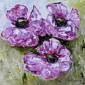 Pink Poppies by Galina Khlupina