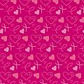 Pink Ribbons  by Debra  Miller
