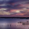 Pink Sky by Don Cockroft