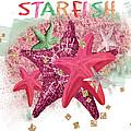 Pink Starfish by Debra  Miller