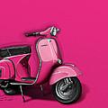 Pink Vespa by Etienne Carignan