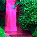 Pink Waterfall by Bruce Nutting
