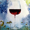 Pinot From Vine To Glass II by Susan Richardson-Kaumans