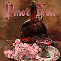 Pinot Noir Vintage Advertisement by
