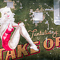 Pinup Girl - Aircraft Nose Art - Take Off Anne by Gary Heller