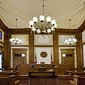 Pioneer Courthouse Courtroom In Portland Oregon Downtown by Jit Lim