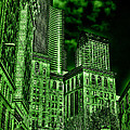 Pioneer Square In The Emerald City - Seattle Washington by David Patterson