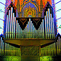 Pipe Organ In Bologna by Jenny Setchell