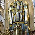 Pipe Organ In Breda Grote Kerk by Jenny Setchell