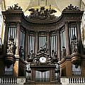 Pipe Organ In St Sulpice by Jenny Setchell