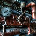 Pipes And Clocks by Nathan Wright