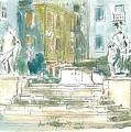 Piran - Square 1st May by Marko Jezernik