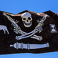 Pirate Flag With Skull And Pistols by Garry Gay