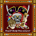 Pirate Mardi Gras Version 1 Vector Sample by Bill Campitelle