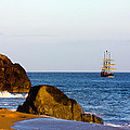 Pirate Ship In Cabo by Shane Bechler