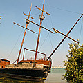 Pirate Ship Or Sailing Ship by Sue Smith