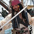 Pirate With Sword by Brenda Kean