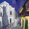 Pirate's Alley French Quarter Painting  by Kerin Beard