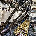 Pirn Winding Machine by Gillian Singleton